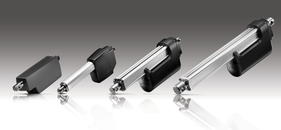 LINAK actuators with integrated controller