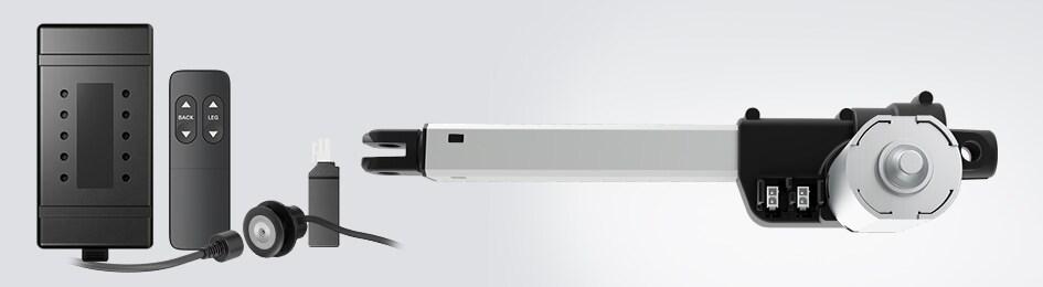 電動アクチュエータ LA10を貴社の設計に簡単に取り込み可能