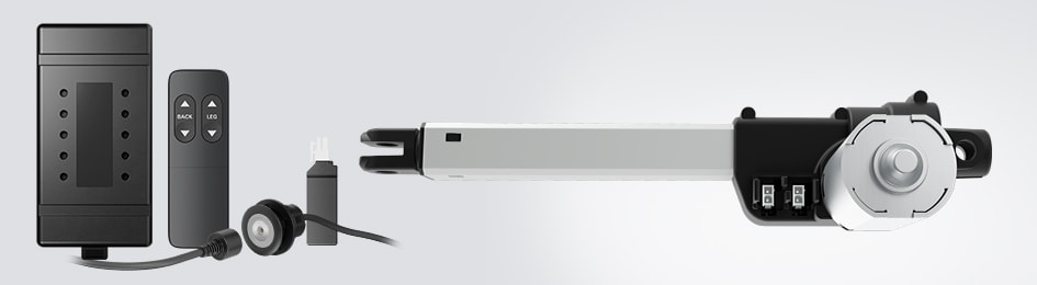The LA10 actuator is easy to integrate into your design