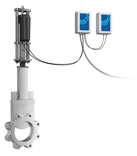 Testes de entrada de substâncias em atuadores industriais - Válvulas de Automação