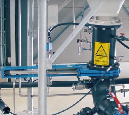Las válvulas de accionamiento eléctrico optimizan los procesos en el tratamiento de aguas residuales