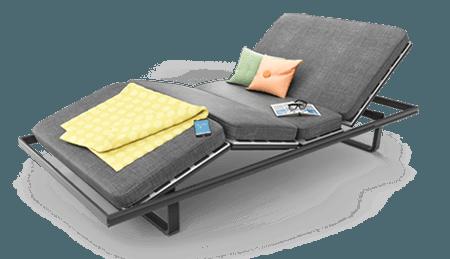 O novo design aumenta as possibilidades de uso do App Bed Control da LINAK.