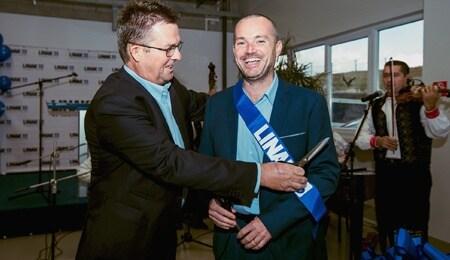 Opening van nieuwe fabrieksuitbreiding van LINAK Slowakije