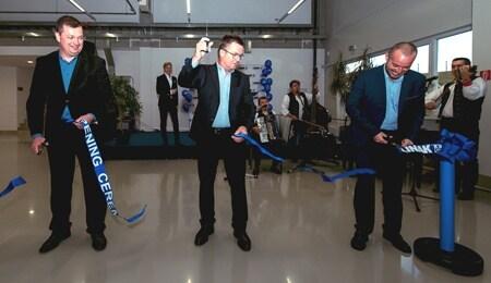 Abertura da nova expansão da fábrica da LINAK na Eslováquia