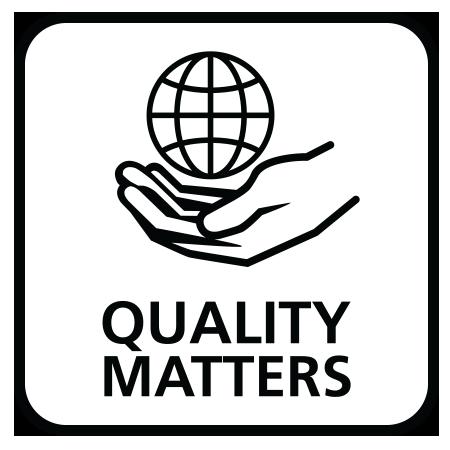 品質至關重要