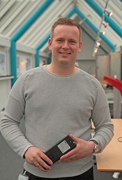 Stefan Lorenzen, LINAK Sales Engineer bij LINAK A/S in Guderup, Denemarken.