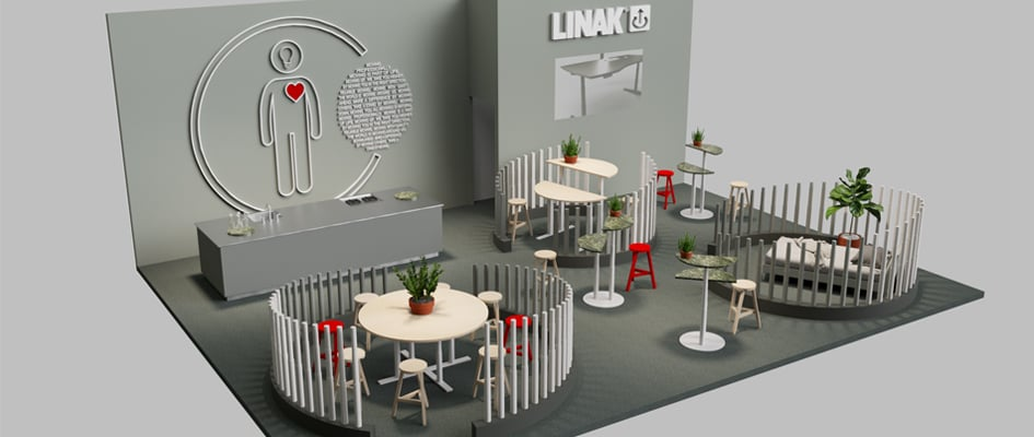 Stockholm Furniture Fair 2017 stand layout