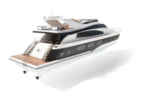 Teollisuuskäyttöön tarkoitettujen karamoottoreiden testaus suolalle ja kemikaaleille altistumiselle – jahtivene