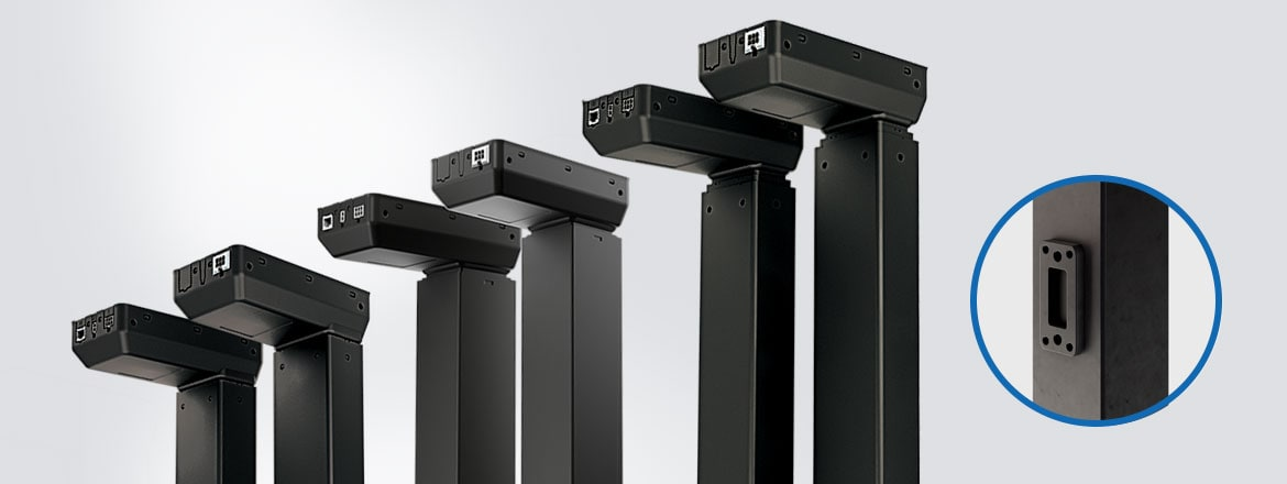 Create benching solutions with your IC lifting columns