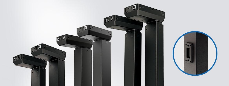 Tworzenie rozwiązań ławowych w oparciu o kolumny podnoszące ze zintegrowanym sterownikiem (IC)