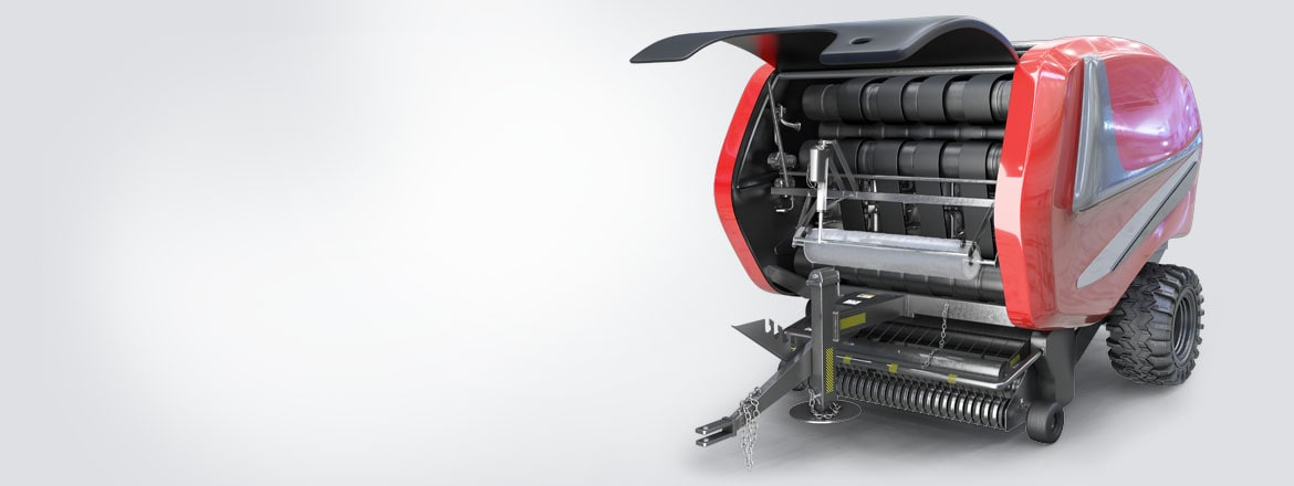 Easy solutions for balers with LINAK actuators