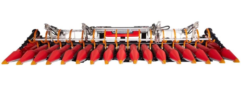 Electrificación de las placas de recolección de las cosechadoras para maximizar la producción de los cultivos