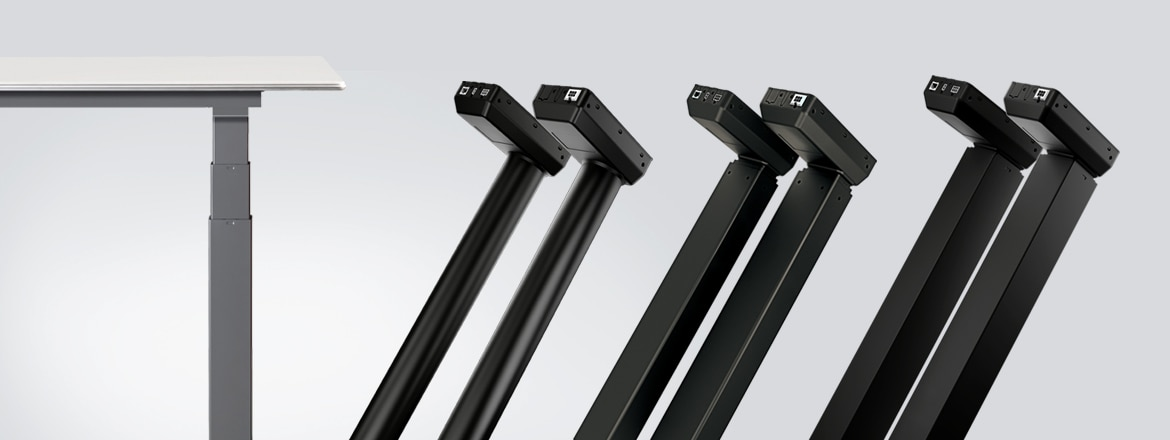 Introducing DL IC – nine new lifting column systems ideal for economy desks
