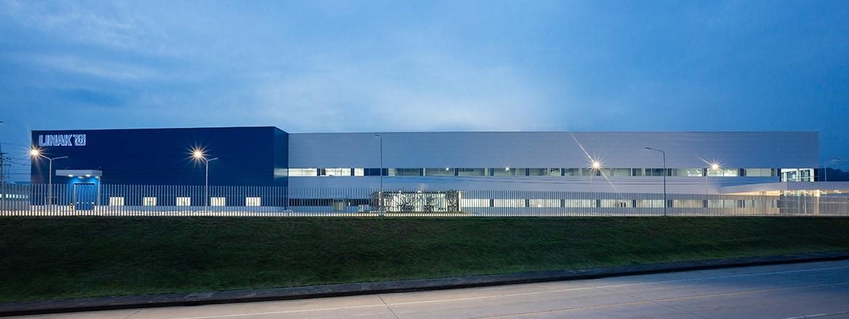 LINAK Asie-Pacifique Les locaux de 12 000 mètres carrés abritent des installations de production, logistiques et administratives.