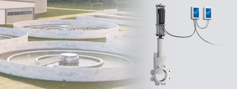 Maximize a vida útil de válvulas em estações de tratamento de águas residuais