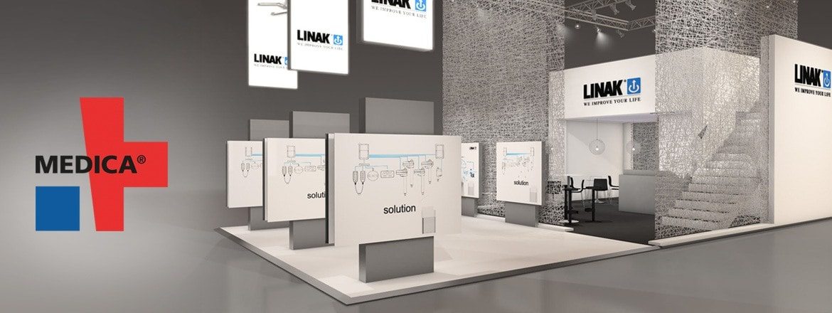 MEDICA 2017: Future healthcare powered by LINAK electric