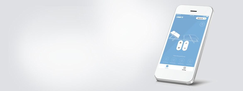 Il nuovo design rende la app LINAK Bed Control ancora più user friendly
