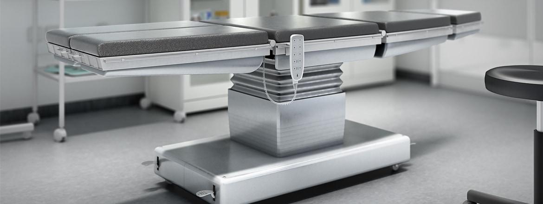 Prestazioni più efficienti per tavoli operatori