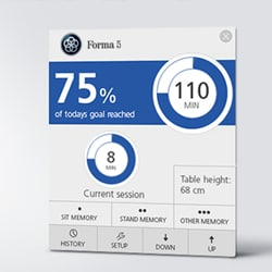 LINAK Desk Controlを使って貴社ブランドを健康に結びつけませんか