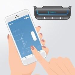 Stellen Sie Ihren Schreibtisch mit der Desk Control App für Smartphones ein