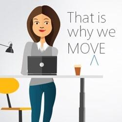 Zyskaj większą wydajność pracy przy biurku z regulacją wysokości