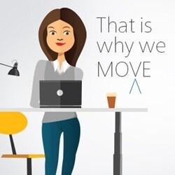 Buďte produktivnější s výškově nastavitelným stolem