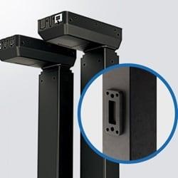 Vytvářejte konstrukce bench stolů s výsuvnými sloupky IC