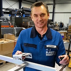 Customer saves assembly time with the new Kick & Click system
