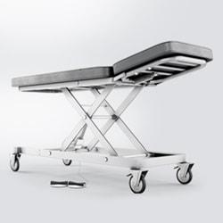Justerbare behandlingslejer og -borde med høj fleksibilitet og flot design