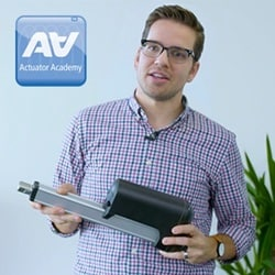 Bagom teknologien i spindel og gear i aktuatorer