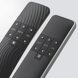 Standard editions of the hand control HC40 for comfort beds