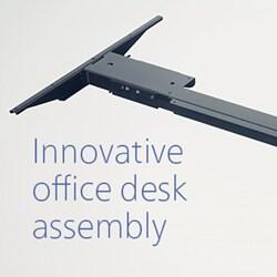 Un assemblage innovant des bureaux avec le Kick & Click