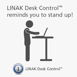 Nooit eerder was het gebruik van uw in hoogte verstelbare bureau zo gemakkelijk