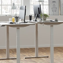 Office desks with LINAK products