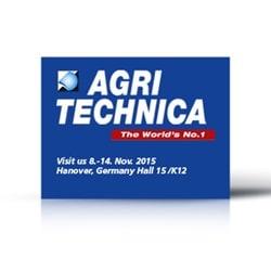AGRITECHNICA 2015-Move For The Future (未来に向けて)