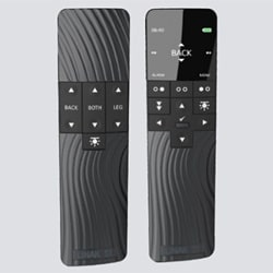 The HC40 hand controls for comfort beds are both co,partible with basic and advanced systems.