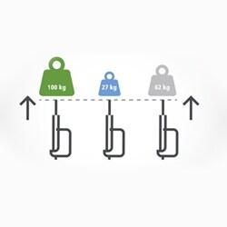Precyzyjny ruch w układzie równoległym z funkcjami regulacji