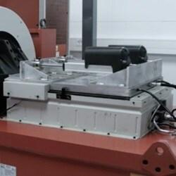Stoßprüfung von elektrischen Linearantrieben für Industrieanwendungen