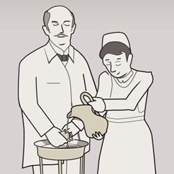 Pozvedání úrovně hygieny na vyšší úroveň – historie zdravotnictví