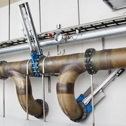Atuadores da LINAK para tratamento de águas residuais