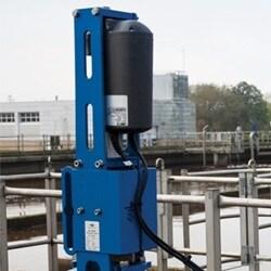 Afvalwaterzuiveringsinstallatie bespaart energie door gebruik van lineaire elektrische actuatoren
