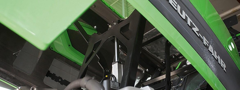 Sofistikert løsning for åpning av panser med aktuator fra LINAK
