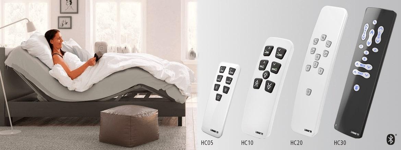 LINAK 가정용 전동 침대를 위한 무선 핸드 스위치의 다양성