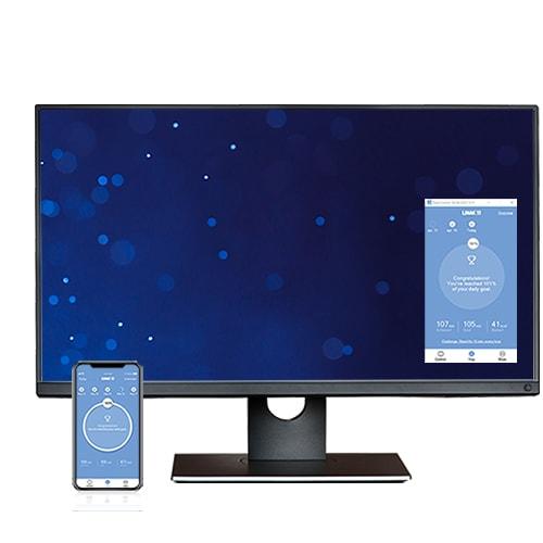 Windows desk control with app and desktop