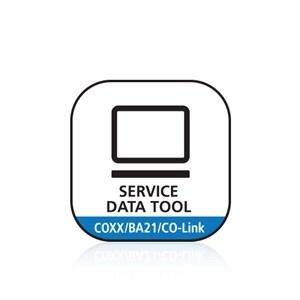 Service Data Tool för COXX, BA21 och CO-Link™