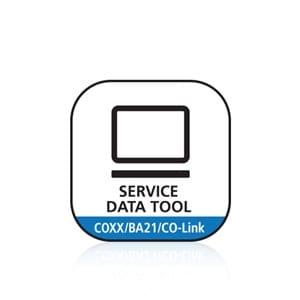 Service Data Tool voor COXX, BA21 en CO-Link™