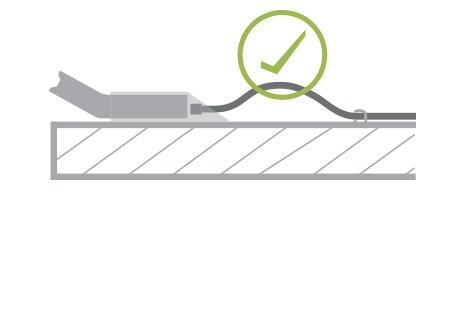 Montaż panelu DPG – kabel