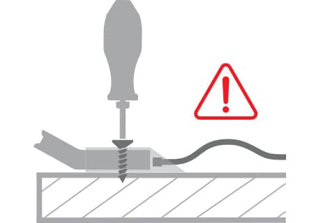 Installation do not strip DPG screws