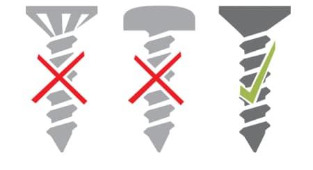 Installation screw DPG