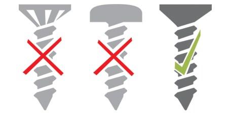 Montage Schraube DPG